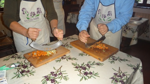 Cooking Lesson at Toscana Mia