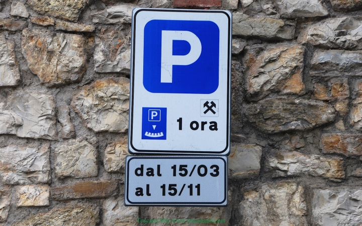 Parking Disc Sign