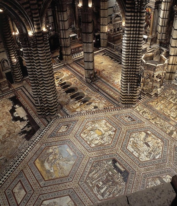 Duomo Siena Inside
