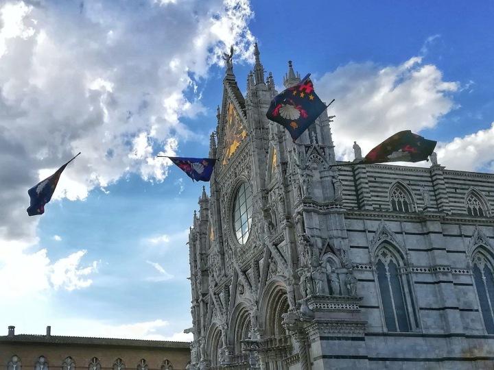 Flags Duomo Siena