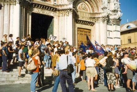 People Duomo Siena