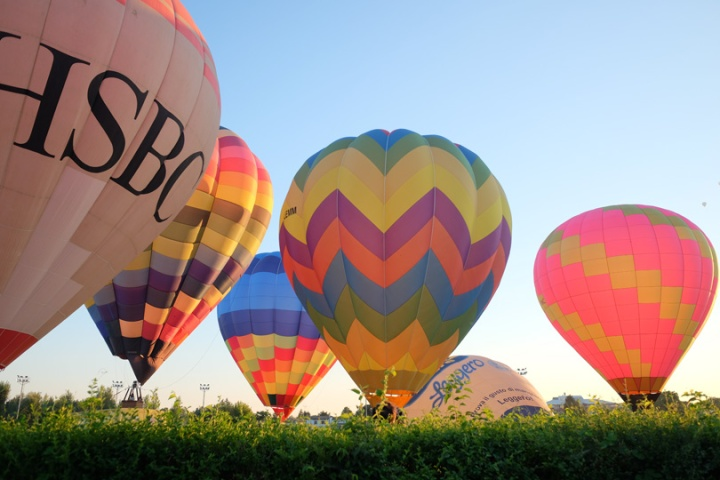 Florence Hot air balloons Festival 6